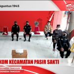 Senkom Kecamatan Pasir Sakti Ikuti Upacara HUT RI 76